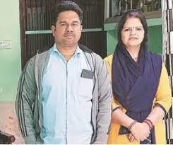 Shafali Verma Father Sanjeev Berma & Mother Praveen Bala
