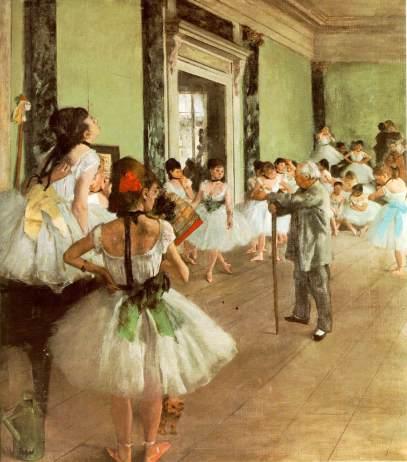 """""""La classe di danza"""", 1875-1876"""