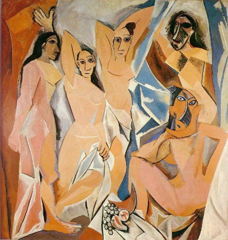 Les-Demoiselles-d'Avignon-Picasso