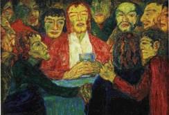 Nolde-the-last-supper-1909