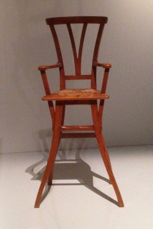 Children's chair by Henry van de Velde