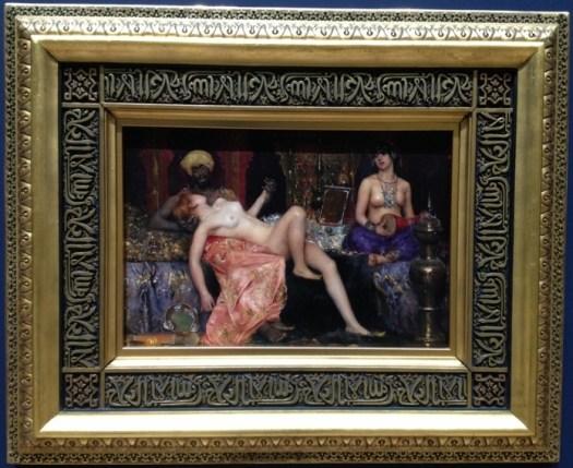 Maurice Bompard (Rodez 1857 - Paris 1936) - Scene de Harem