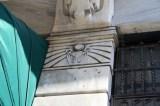 Detail facade Ravouna Building Istanbul