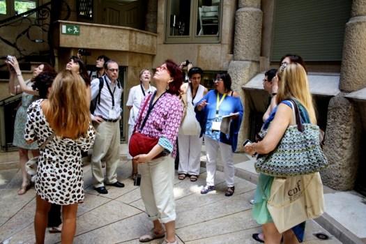 Guided tour by Sílvia Vilarroya