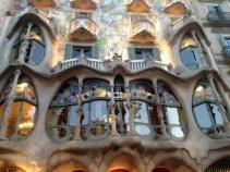 Window of Casa Batlló - Passeig de Gràcia 43