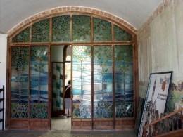 Interior Casa Navas Stained Glass
