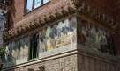 Mosaics at Hospital de la Santa Creu i Sant Pau