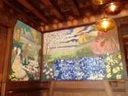 Casa Lleó i Morera Ceramic Mosaic Wall Panels
