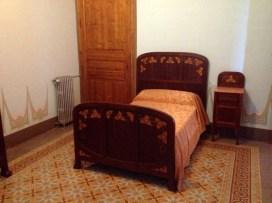 Bedroom Institut Pere Mata Pavilion 6 Reus