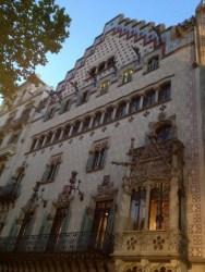 Casa Amatller Facade