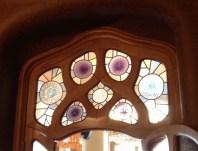 Windows Casa Batlló first floor