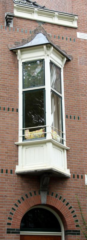 Mathenesserlaan 256 bay-window