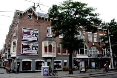 Corner Mathenesserlaan and Nieuwe Binnenweg facade