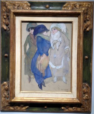 Three Elegant Ladies Leo Gestel 1906