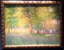 Little Farm in Summer, 1907, Gustave de Smet, Gallery Francis Maere (BRAFA 55a)