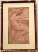 Nu de dos, 1902, Victor Rousseau Lancz Gallery (BRAFA 15d)