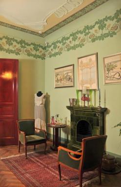 Riga Art Nouveau Museum Living Room