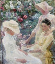 1886 Jan Toorop - Trio Fleuri