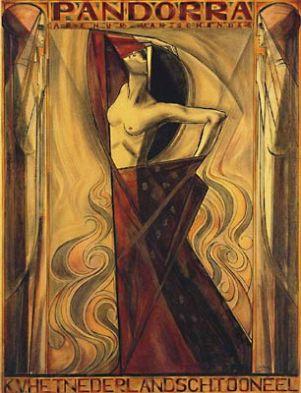 1919 Jan Toorop - Pandorra