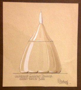 design tea box Hendrik Methorst 1926