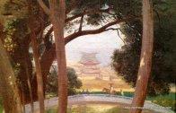 Jardin Japonais by Maurice Leloir - Gallery Philippe Heim (detail)