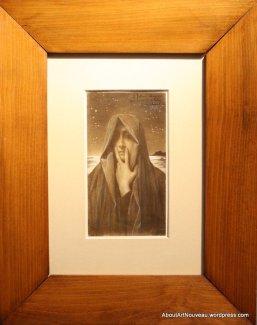 Le Silence by Lucien Lévy-Dhurmer 1895