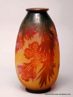 Vase by Emile Gallé