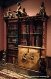 book cabinet with print holder