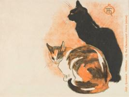 Collectors version of a poster 1894 Théophile Alexandre Steinlen (1859 - 1923)