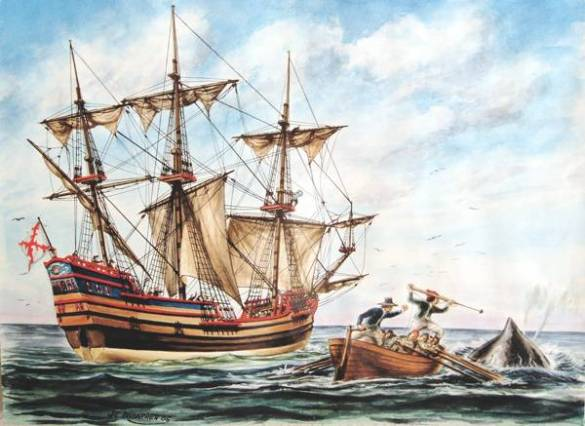 ballenero vasco del siglo XVIII