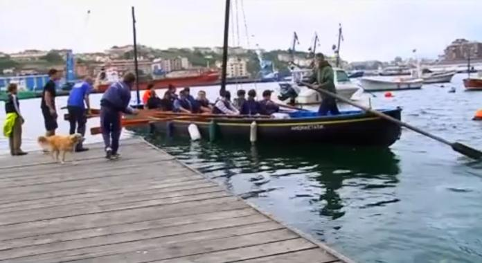 """A still from the Guardian documentary """"The Mystery of the Basques"""""""