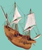 maqueta de la nao San Juan