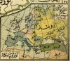 Mapa turco de las lenguas de Europa, incluido el Euskera