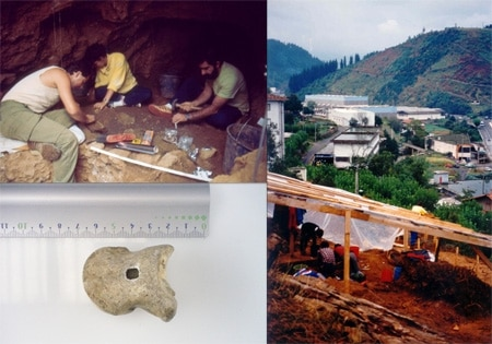An international team of university researchers has concluded that a meeting between a Neanderthal and one of the first humans did not take place on the Iberian Peninsula. (Photo : Courtesy of the University of the Basque Country)