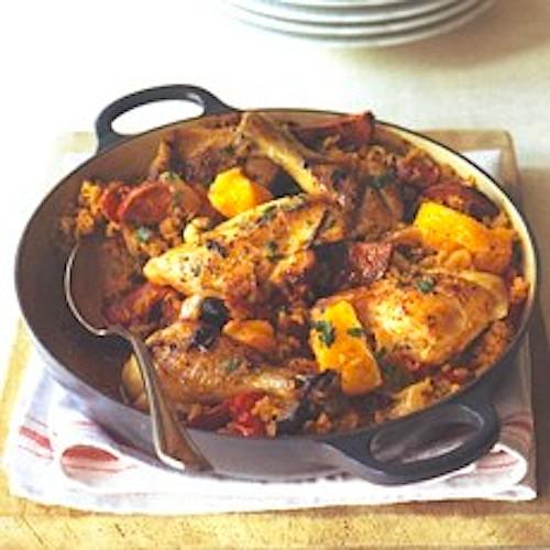 Chicken basque