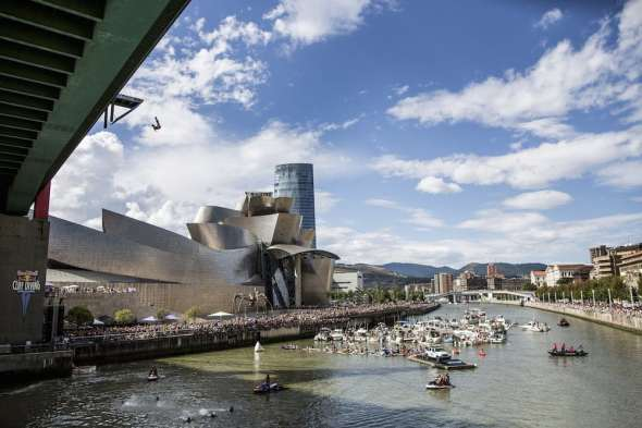 Red Bull Cliff Diving 2014 Bilbao
