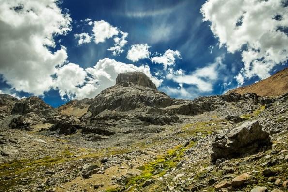 Cerro Euzkadi, Andes chilenos (Fotografía de Eugenia Paz)