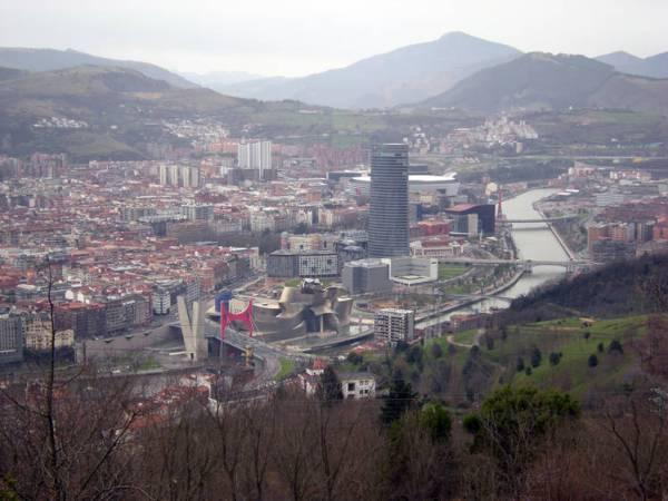 Vista del Ensanche De Bilbao desde Artxanda. (Fotografía: Berto Gonzáles Montaner)