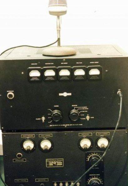 El equipo emisor de Radio Euzkadi en Iparralde