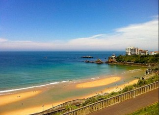Cote des basques- Biarritz (Fotografía: Biarritztaxi)