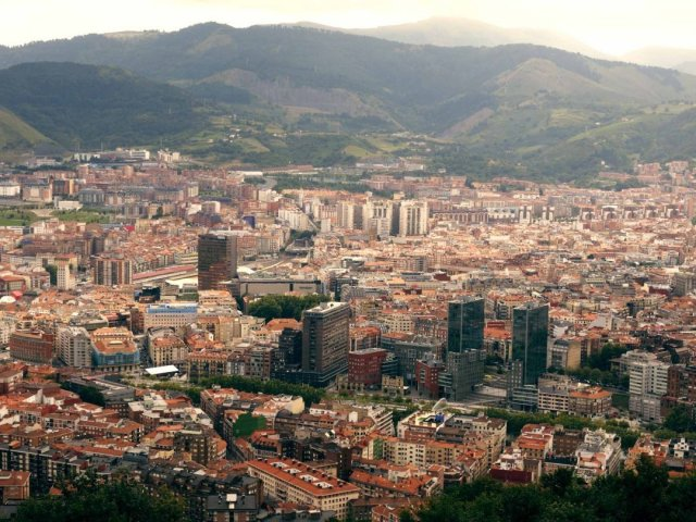 Vista de Bilbao desde Artxanda (Esquire)