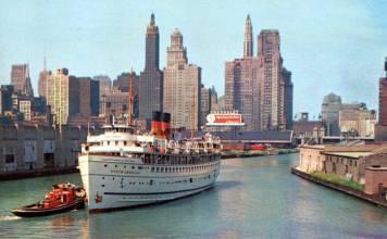 Chicago a inicios de los años '60 (fotografía Old Chicago)