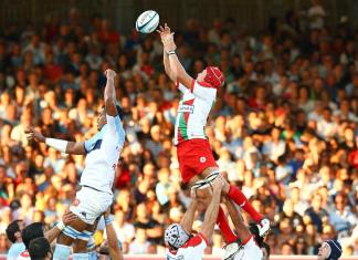 Aviron y Biarritz (Foto Rugbyrama)