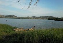 Vista del rio Magdalena a su paso por Sitimi, Colombia, donde se iba a asentar la colonia de exiliados vascos