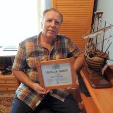 Sabino Laucirica investigador vasco de la historia d elos vascos en las costas de Terranova