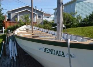 Una txalupa ballenera vasca en Terranova