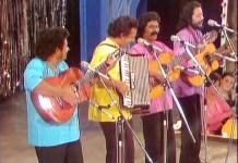 Carlos Mejia Godoy y los de Palacaguina actuando en la televisión española en los años 70