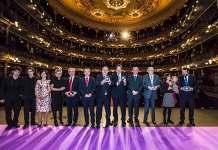 Premios Sabino Arana 2016. Foto de los premiados