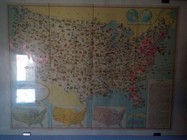 mapa usa en bilbao