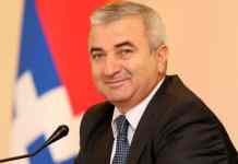 Chairman of the NKR National Assembly ,Ashot Ghoulian